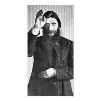 Russian Mystic Grigori Yefimovich Rasputin Photo Greeting Card