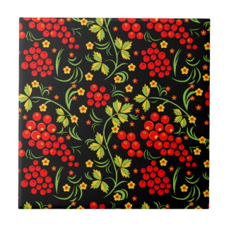 Russian national pattern small square tile
