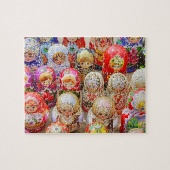 Russian Nested Dolls Jigsaw Puzzle