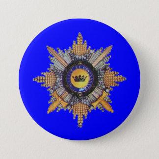 Russian order1 7.5 cm round badge