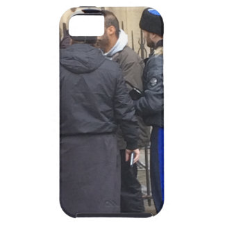 Russian Orthodox Priest outside Paris Notre Dame iPhone 5 Case