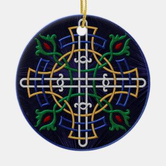 Russian Orthodox Symbol - Personalized Round Ceramic Decoration
