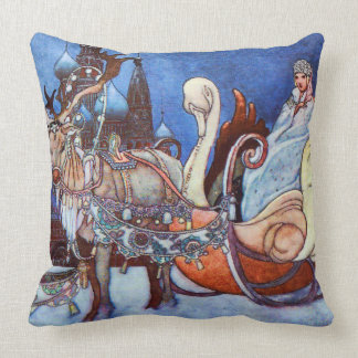 Russian Princess Charles Robinson Illustration Cushion