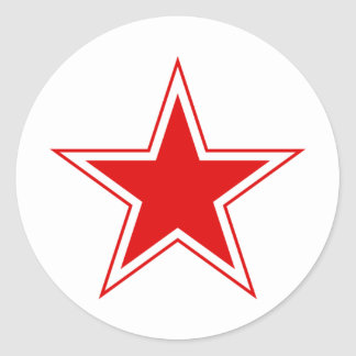 Russian Red Star Stickers
