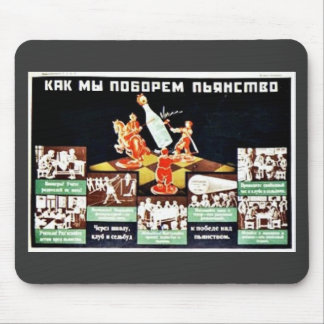 Russian Safety Mouse Pad
