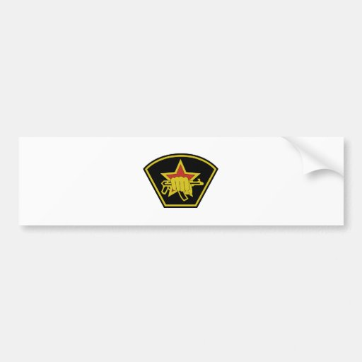 Russian Special Forces Spetsnaz Sleeve Patch Bumper Stickers
