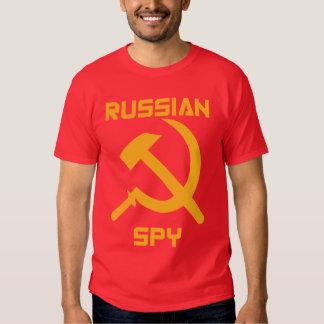 Russian Spy Tee Shirts