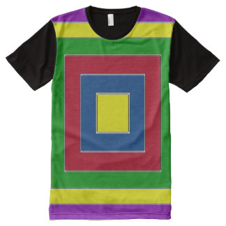 Russian Square All-Over Print T-Shirt