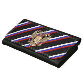Russian stripes flag wallets