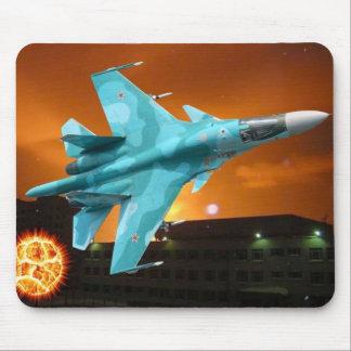 RUSSIAN SUKOI-30 MOUSE PAD