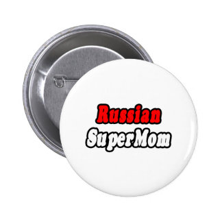 Russian SuperMom Buttons
