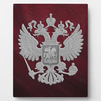 Russian symbol flag red photo plaque