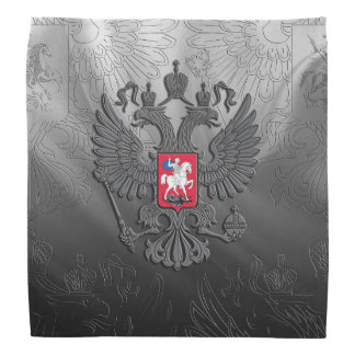 Russian symbol grey flag bandana
