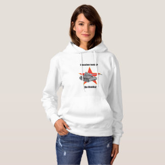 Russian tanks? No thanks! Hooded jumper F Hoodie