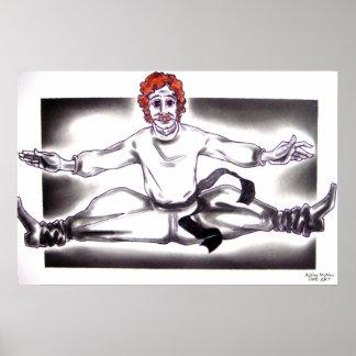 Russian The Nutcracker Ballet Poster