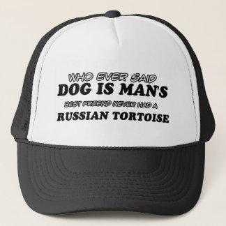 Russian Tortoise  pet designs Trucker Hat