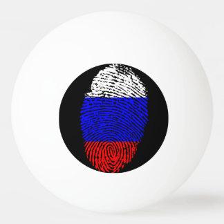 Russian touch fingerprint flag