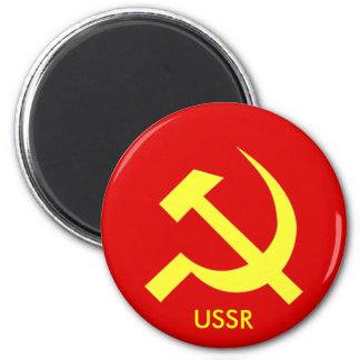 Russian USSR Hammer & Sickle Magnet