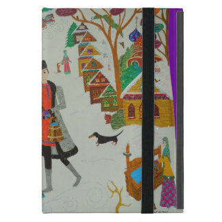 Russian Village in Winter iPad Mini Cover