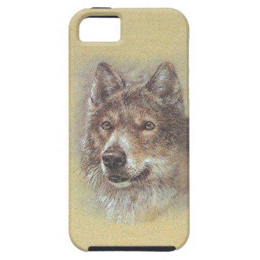 Russian Wolf From USSR 1988 Stamp ~ iPhone 5 Case
