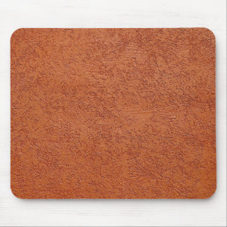 RUST COLORED STUCCO MOUSE PAD