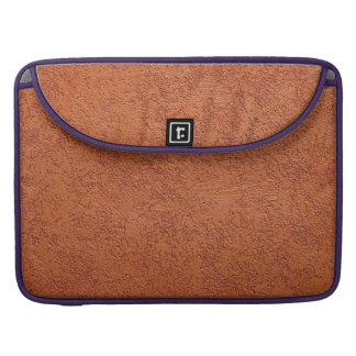 RUST COLORED STUCCO SLEEVES FOR MacBook PRO