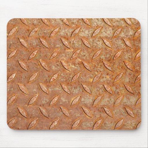 Rust Diamon Plate Mousepad
