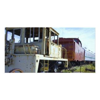 Rust Graveyard Custom Photo Card