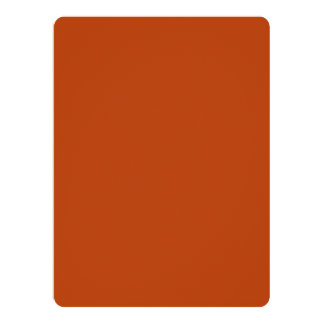 Rust High Quality Colored Invitations