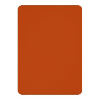 Rust High Quality Colored 11 Cm X 16 Cm Invitation Card