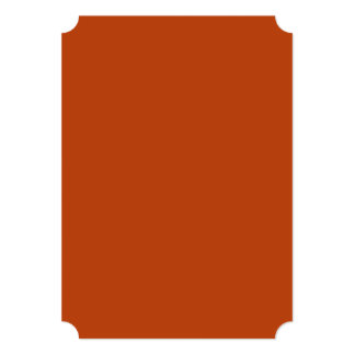 Rust High Quality Colored 5x7 Paper Invitation Card
