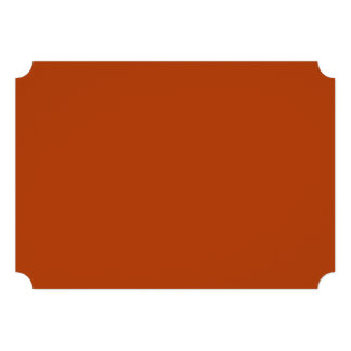 Rust High Quality Colored Personalized Announcements