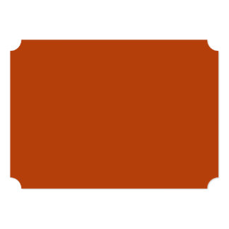 Rust High Quality Colored 13 Cm X 18 Cm Invitation Card