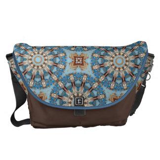 Rust-Mandala_126, Colors of Rust Courier Bag