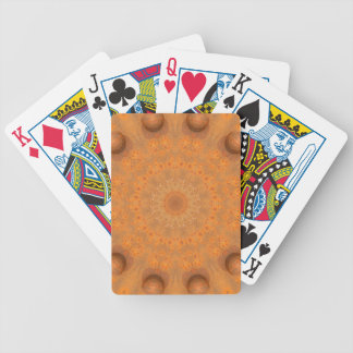 Rust-Mandala, Colors of Rust_843_2 Bicycle Playing Cards