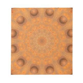 Rust-Mandala, Colors of Rust_843_2 Notepad