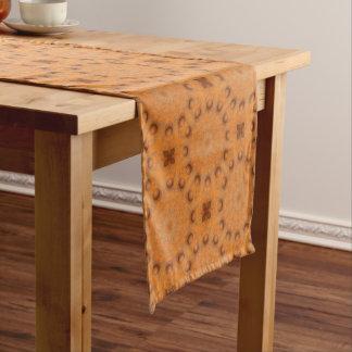 Rust-Mandala, Colors of Rust_843_2 Short Table Runner