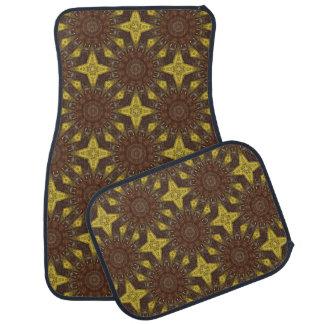 Rust-Mandala, Colors of Rust Car Mat