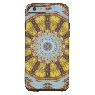 Rust-Mandala, Colors of Rust Tough iPhone 6 Case