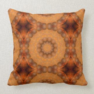 Rust-Mandala, Colours of Rust_744_3 Cushion