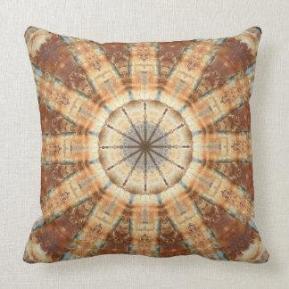 Rust-Mandala, Colours of Rust Cushion