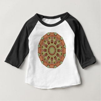 Rust-Mandala, ROSTart 712_2 Baby T-Shirt