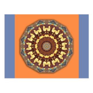 Rust-Mandala, ROSTart 785 Postcard