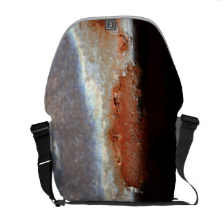 Rust Metal Steel Iron Grunge Industrial Photo Bag Commuter Bags