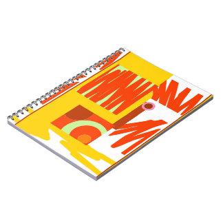 Rust n Mustard Digital Graphic Notebook 80pg