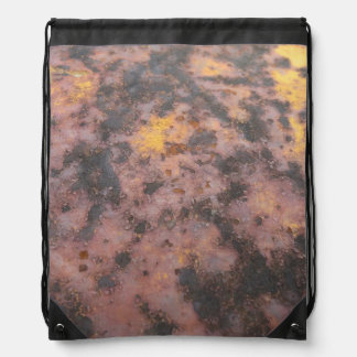 Rust of Ages drawl string backpack