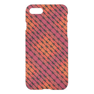 Rust Red Barbed Wire Barb Fencing Orange iPhone 7 Case