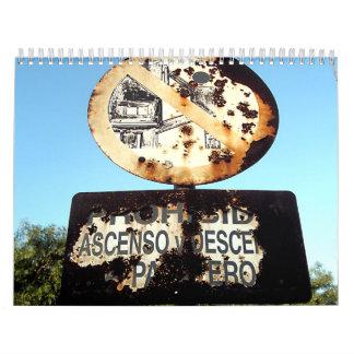 Rust & Rusty Calendar