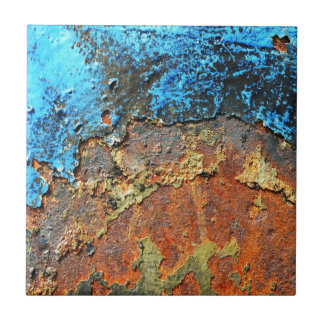 Rust Textured metall Ceramic Tile