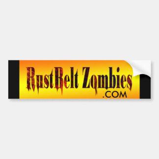 RustBelt Zombies bumper sticker Car Bumper Sticker